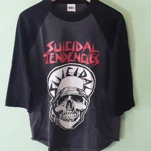 New Suicidal Tendencies t-shirt ( 3/4 sleeve).
